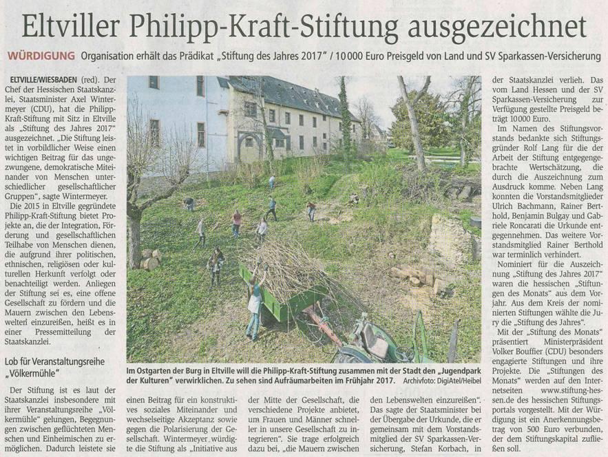 Philipp-Kraft-Stiftung